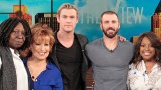 Chris Hemsworth & Chris Evans Talk 'The Avengers' Sequel