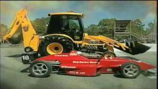 The JCB GT: The Worlds Fastest Backhoe