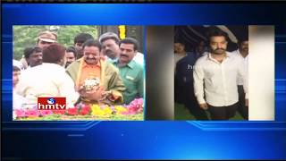 Nandamuri Harikrishna, Jr NTR and Lakshmi Parvathi Pay Tribute to NTR   Hyderabad