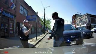 chicago undercover cops (plain clothes officers) on a traffic stop