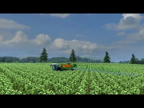 Farming Simulator 2013   Amazone Pantera sprayer spraying Corn