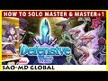 How To Solo Defensive War Master Master 1 SAO Memory Defrag mp3