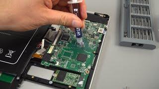 EZBook X4 Fix Thermals And Boost FPS 200% Gemini Lake TDP Tweak