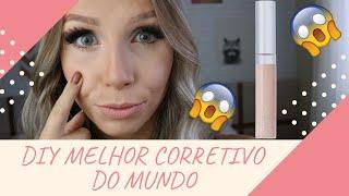 DIY CORRETIVO CASEIRO MELHOR DO MUNDO - Bruna Harmel