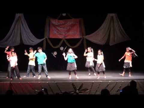 ICSR kids performance on hindi song