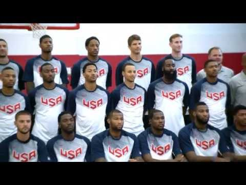 Phantom: Usa Basketball Training Camp Day 1 video
