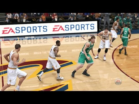NBA Playoffs 2015 - Boston Celtics vs Cleveland Cavaliers - Post Highlights  - NBA LIVE 15 PS4 - HD