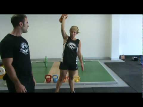 Beginner Kettlebell Exercises for Women Image 1