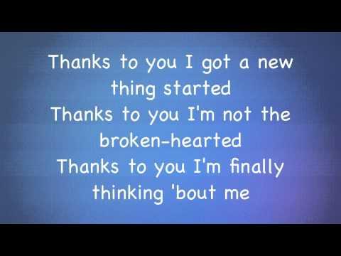 Kelly Clarkson - Stronger (What doesn't kill you) lyrics