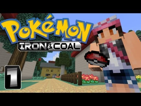 Pokémon: Iron Coal Pixelmon Part 1 The Adventure Begins