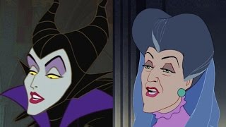 Disney Doppelgangers: Maleficent & Lady Tremaine