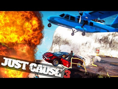JUST CAUSE 3 BEST STUNT DRIVER! :: Just Cause 3 Epic Stunts Funny Moments!