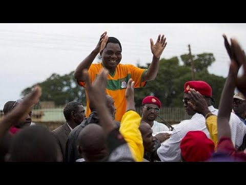 Police And Anti-corruption Protesters Clash Outside Zambian Parliament