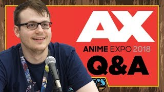 Answering Your Questions at Anime Expo 2018