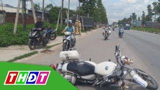 Truy đuổi tài xế lái xe tải tông cảnh sát giao thông | THDT