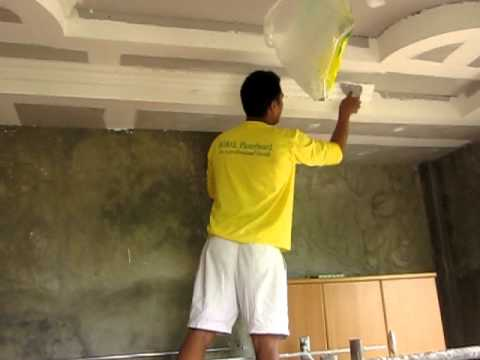 installation of cornice by mac-mac and friends(Tarlac Phil.)