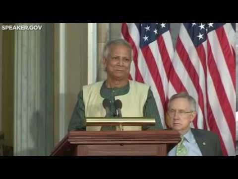 Gold Medal Ceremony Honoring Professor Muhammad Yunus