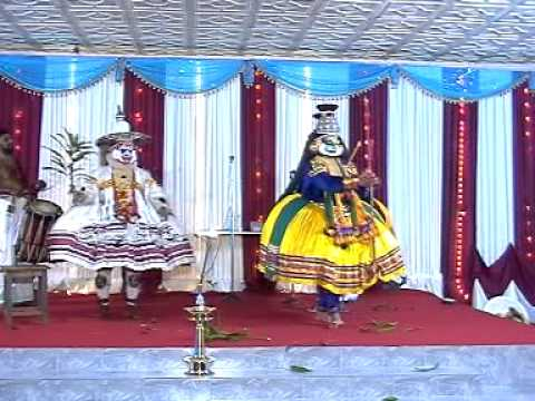 Kathakali-lavanasuravadham Part 2 video
