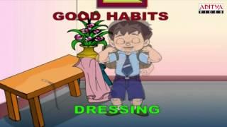 English Rhymes - Good Habits - Kids Pre/Play School - Telugu Nursery Rhymes
