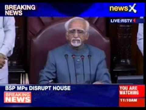 Ruckus in Rajya Sabha over law and order in Uttar Pradesh