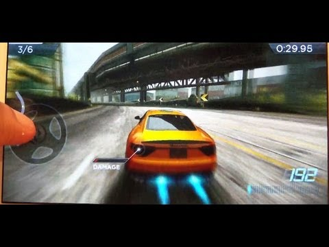 Need for Speed Most Wanted on Samsung Galaxy Note 2 II (GT-N7100 / GT-N7105)