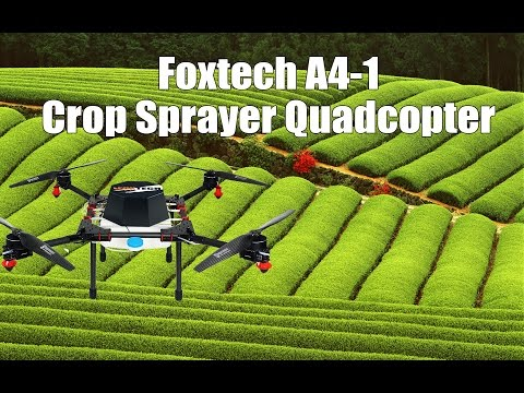 Foxtech A4 1 Crop Sprayer Quadcopter