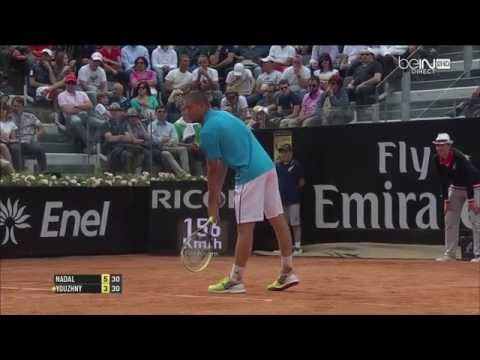 Rome 2014 : Rafael Nadal Best Points TOP 20 HD - Masters 1000 Roma Foro Italico