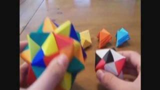 Modular Origami: Sonobe (30 Units)
