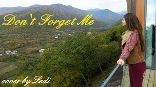 Suzy - Don't Forget Me (Gu Family Book OST) English Cover by Ledi M
