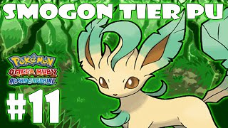 ★POKEMON SMOGON TIER PU COMBATE WIFI #11 LEAFEON  PU★