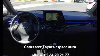 Toyota c-hr occasion visible à Albi présentée par Toyota espace auto albi