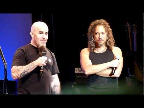 Kirk Hammett and Scott Ian About Cliff Burton (Live in San Francisco, December 7th, 2011)