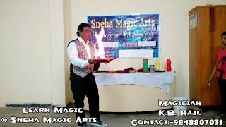 The Best 10 Ten Magic Tricks By K.B.Raju || Paper,Fire,Water,Flower Tricks || Sneha Magic Arts
