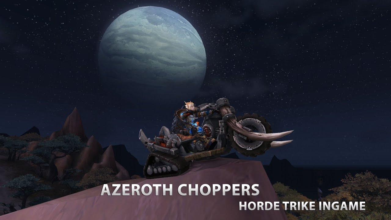 how to get horde chopper