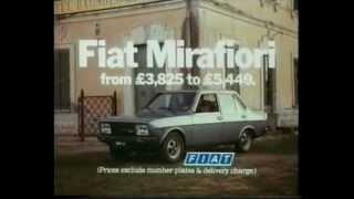 FIAT 131 Supermirafiori 1980 - Spot
