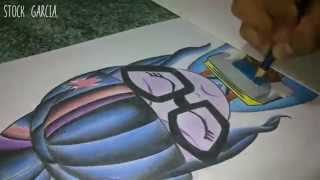 Speed Art / Drawing and painting Twilight Sparkle / Friendship Games