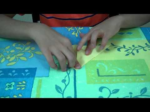 كيفية صنع فراشة  Sha5mata - Origami