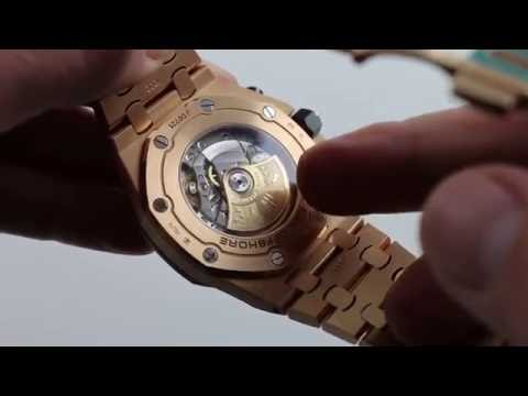Preowned Audemars Piguet Royal Oak Offshore 26470OR Luxury Watch Review