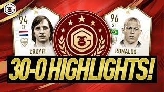 30-0 FUT CHAMPIONS HIGHLIGHTS!! FIFA 19 ULTIMATE TEAM