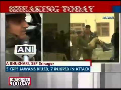 CRPF explains how terrorists carried out Fidayeen attack in Srinagar-2