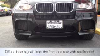 NEW! Escort 9500ci Radar Custom Install BMW X5M How to avoid speeding tickets!
