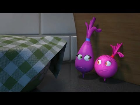 Прикольный мультик «Овощная вечеринка»  - Когда Поднимется Тесто (2 серия)