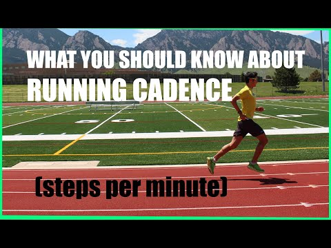 "STRIDE RATE (CADENCE): THE 180 STEPS PER MINUTE ""RULE"" IN DISTANCE RUNNING!"
