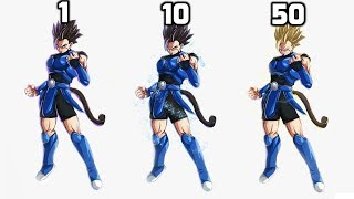 Shallot POWER LEVELS Over The Years (DBZ Legends Power Levels)