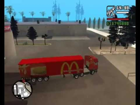 gta san andreas  Mcdonalds