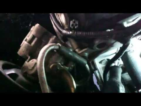 Thermostat replacement Dodge Magnum 2.7L V6 2006 Install Remove Replace
