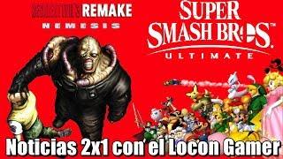 Super Smah Bros Ultimate podría tener DLC   Capcom coquetea con un Resident Evil 3 Remake