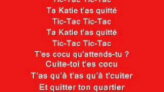Boby Lapointe Ta Katie T 39 As Quitté Avec Paroles