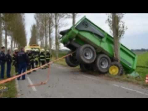 Tractor ongelukken filmpjes
