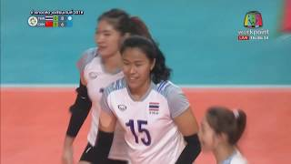 Thailand vs. China | Gold Medal Match | Women's Volleyball Asian Games 2018